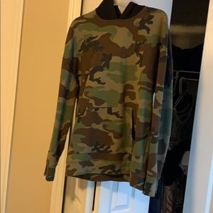 Camouflage jacket from pacsun